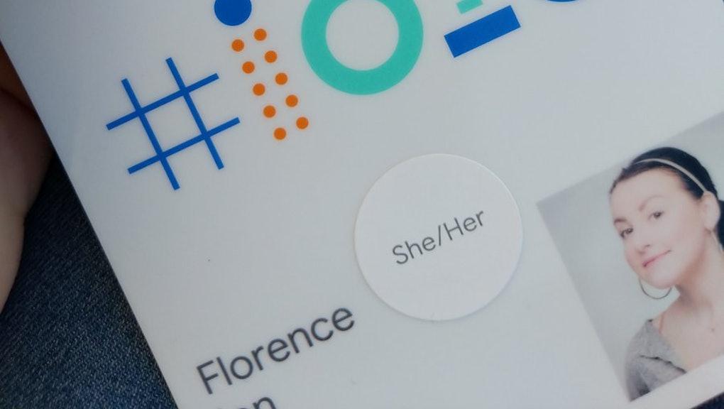 Google embraces gender pronouns at IO 2018 developer conference