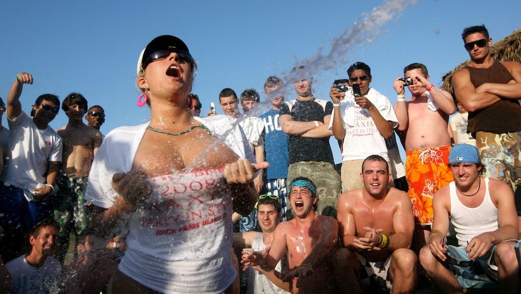 Wet tshirt contest nude