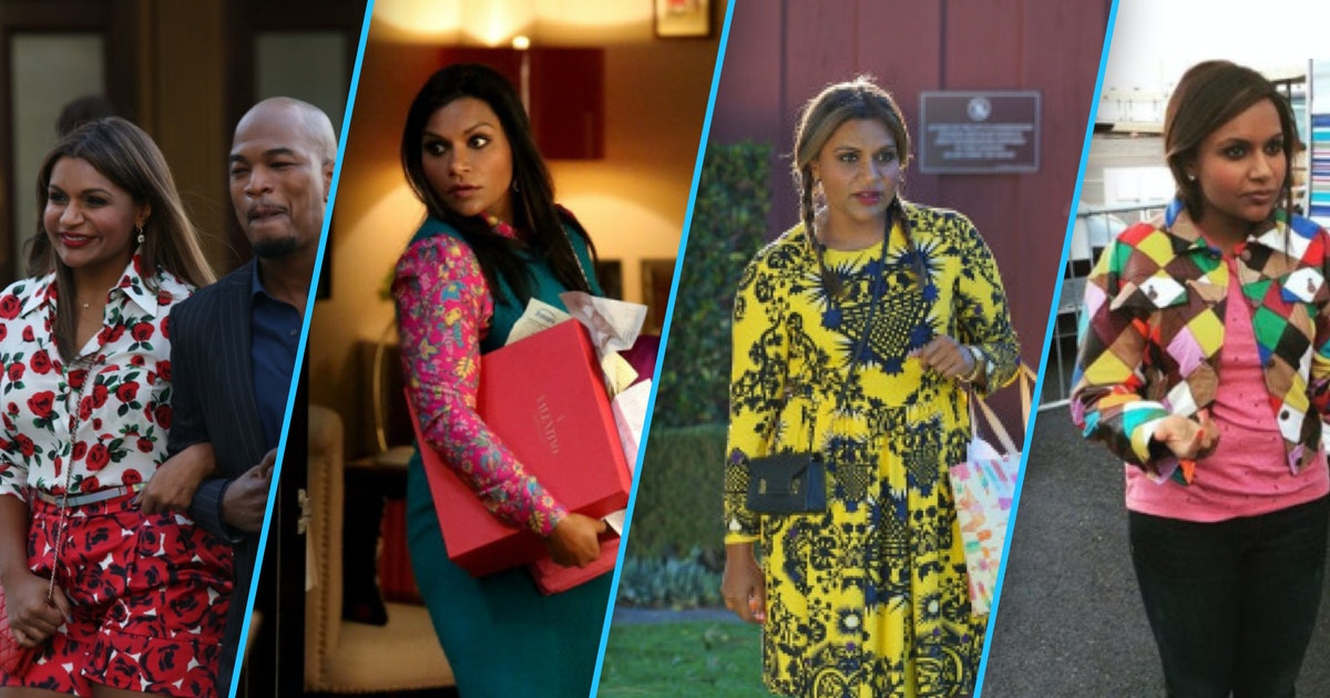 How Mindy Kaling Is Using Her Bright Colored Outfits To Inspire Women Of All Sizes