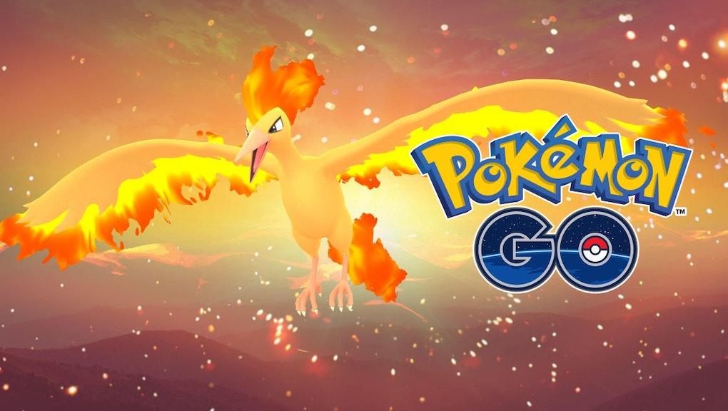 Moltres Moveset Pokémon Go Best Moves For The Legendary Fire Bird