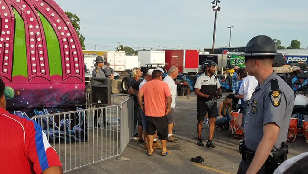 Ride malfunction at Ohio State Fair leaves 1 dead, 7 injured