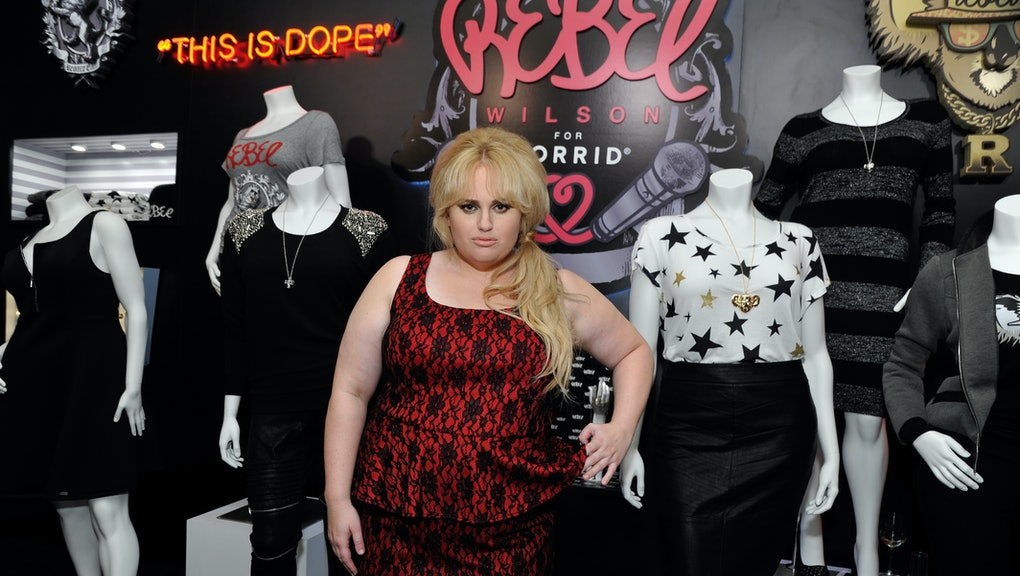 95726fb8d62 Rebel Wilson Thinks Plus-Size Clothing Is Awful — and She s Doing Something  About It