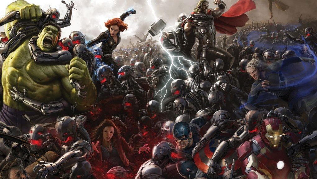 Marvel's 27-Hour Movie Marathon Broke My Brain and Made Me