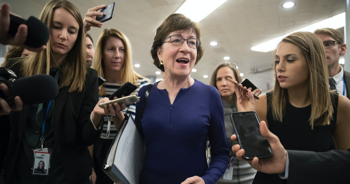 Sen. Susan Collins makes her demands clear for the Republican tax bill