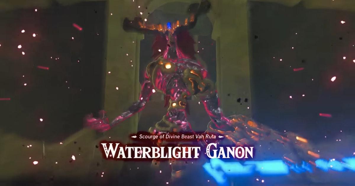 Zelda Breath Of The Wild Waterblight Ganon Guide How To
