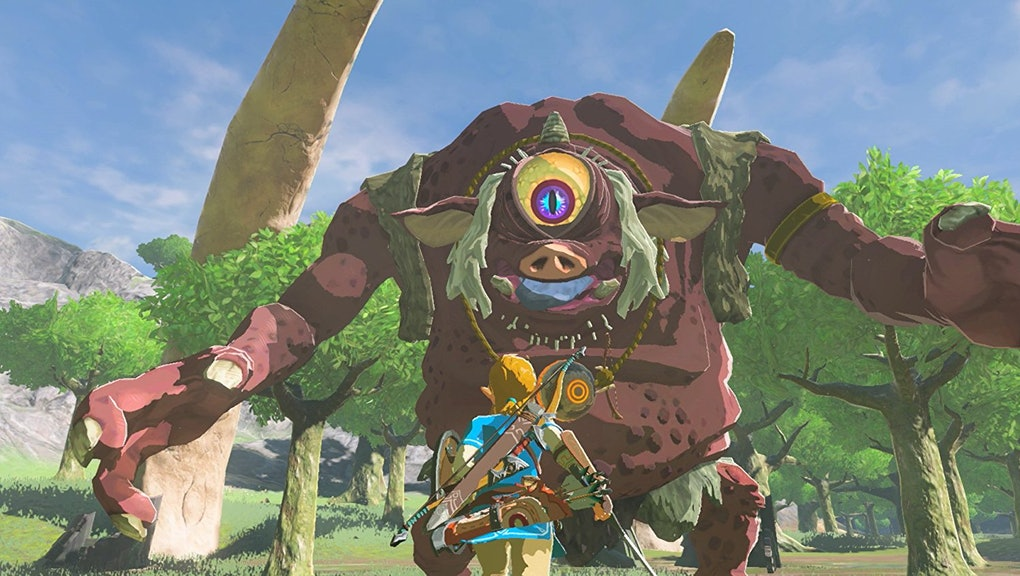 Breath Of The Wild Bosses >> Zelda Breath Of The Wild Hinox Guide Tips And Tricks How To