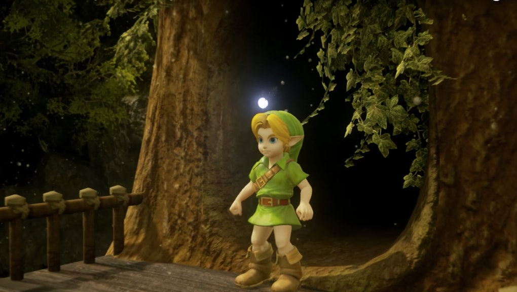 Zelda: Ocarina of Time' HD Remake Mod: An Unreal Engine 4