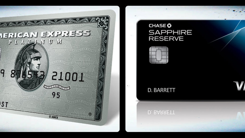 Chase Sapphire Reserve vs  American Express Platinum: Which is better?