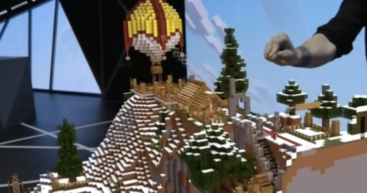 The Future of 'Minecraft' Was Unveiled at E3, and You Won't Believe Your Eyes