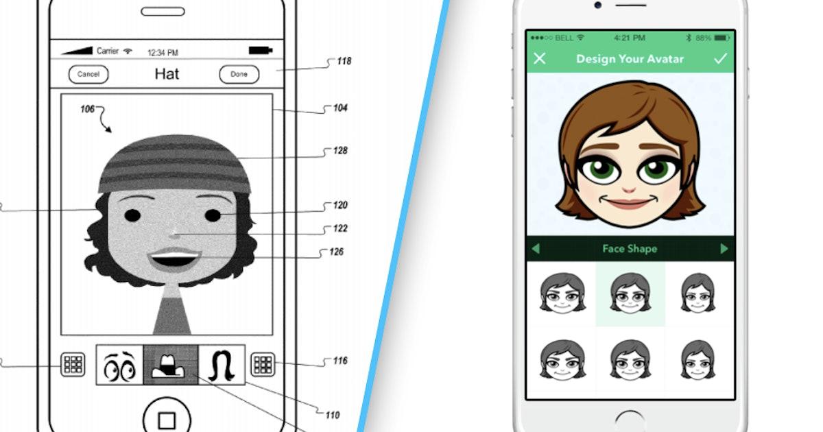 Apple just patented something that looks exactly like Bitmoji