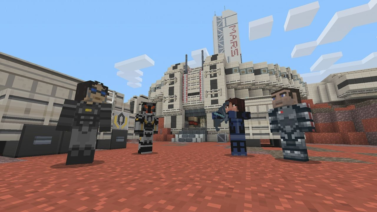 mass effect mod minecraft