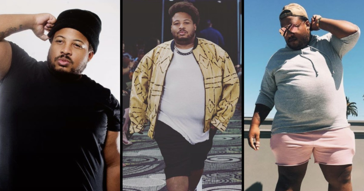 Meet Dexter Mayfield, the queer, plus-size male model taking the fashion industry by storm