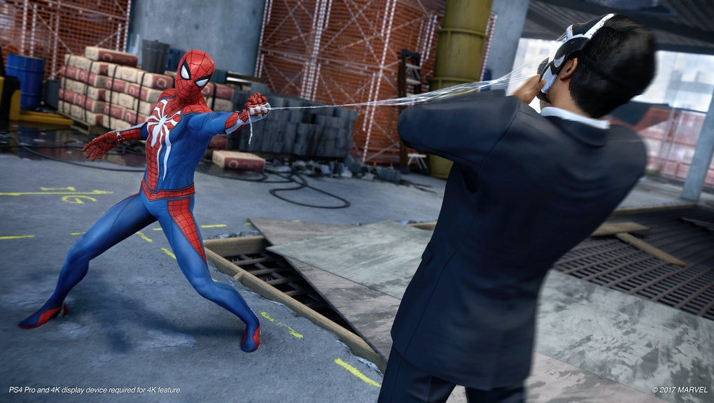 Spider-Man' PS4 Gameplay: Peter Parker can't actually kill