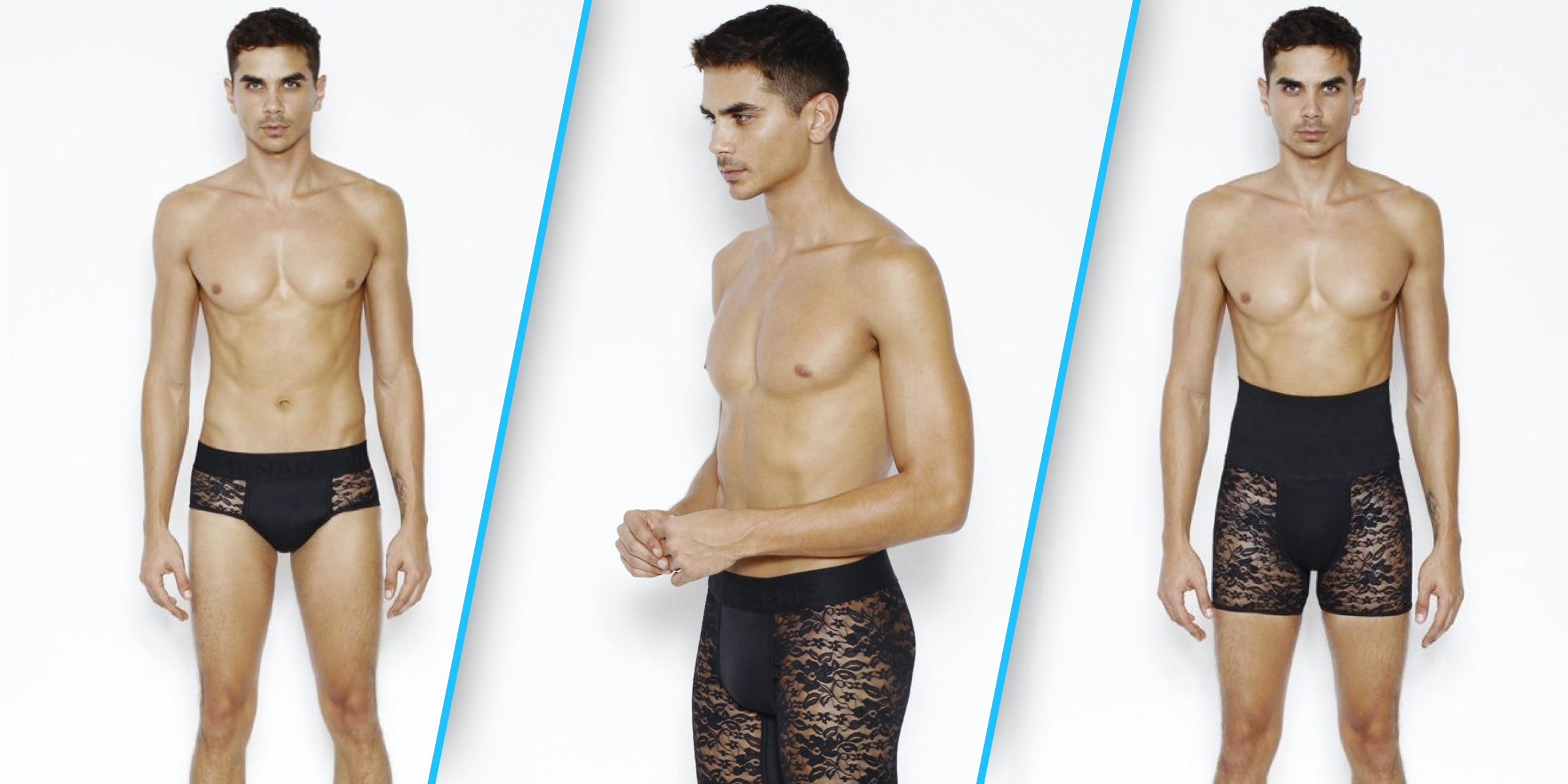 ef2aae53b3a7 At Long Last, Lingerie For Men Now Exists. So Take That, Victoria's Secret.
