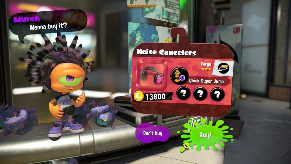 Splatoon 2' Gear Guide: The 2 best ways to shop for new