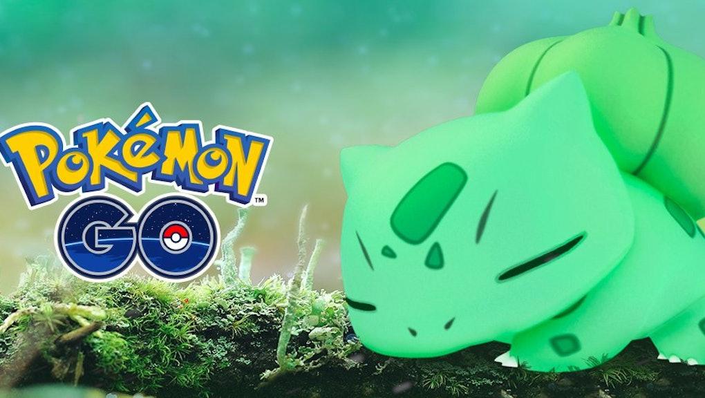 Pokémon Go' Shiny Bulbasaur: Niantic Twitter graphic sparks