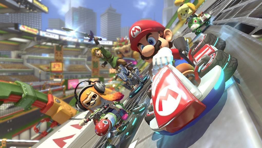 Mario Kart 8 Deluxe Vs Wii U Comparison How The Nintendo