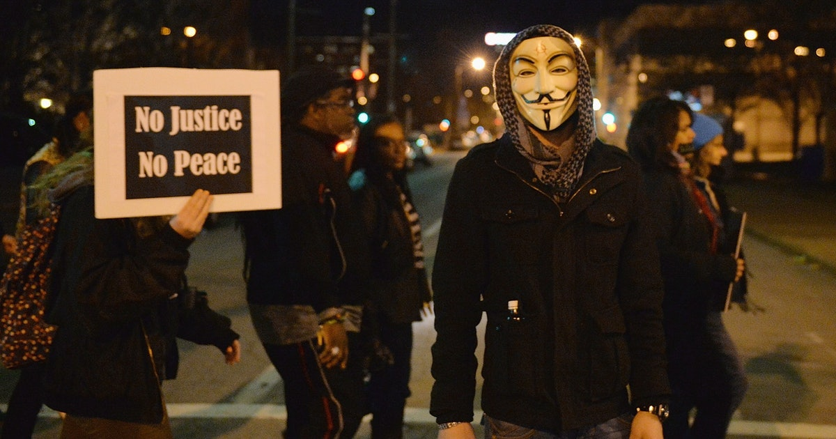 The Anonymous Hackers Who Took Down the KKK Website Are Going After Black Lives Matter