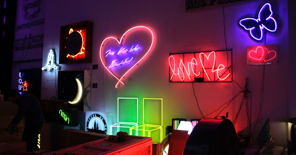 Let There Be Neon: A look inside the NYC shop that's been making the best neon signs since 1972