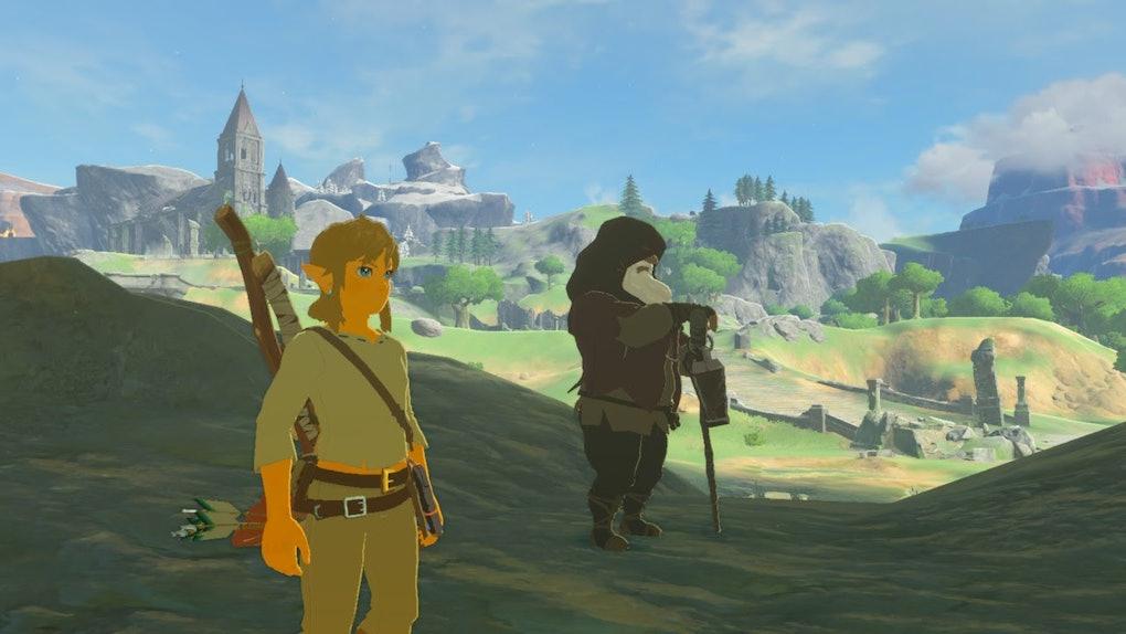 Zelda Breath Of The Wild Walkthrough Great Plateau Guide Tips