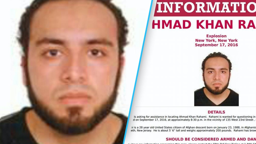 Ahmad Khan Rahami wanted in connection to Chelsea bombing