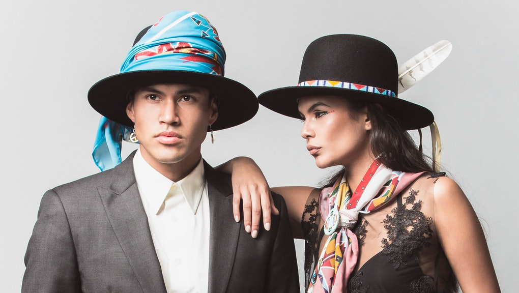 Stunning Images Show How Native American Fashion Looks