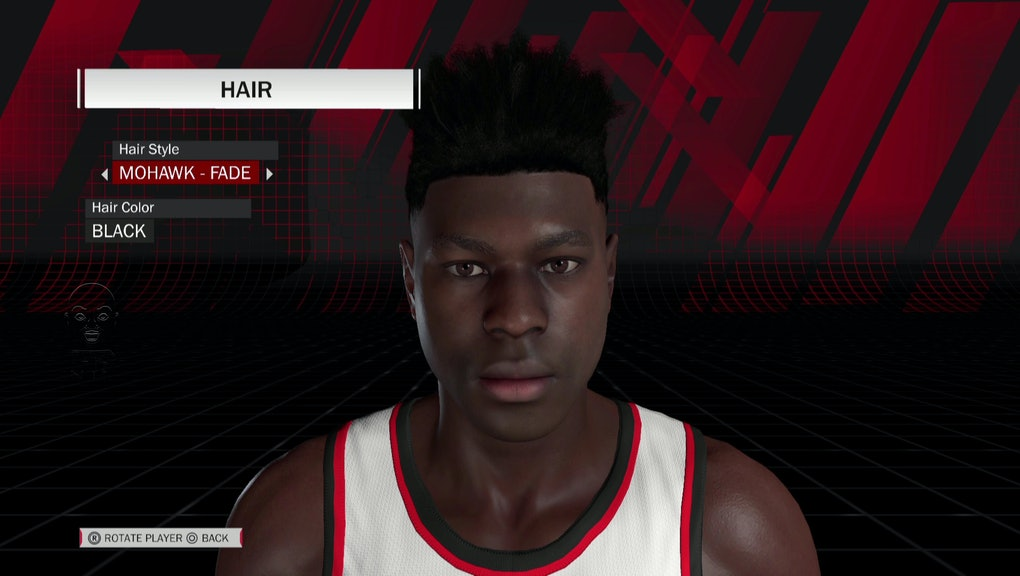 NBA 2K18': Offline player creation tools need to mirror