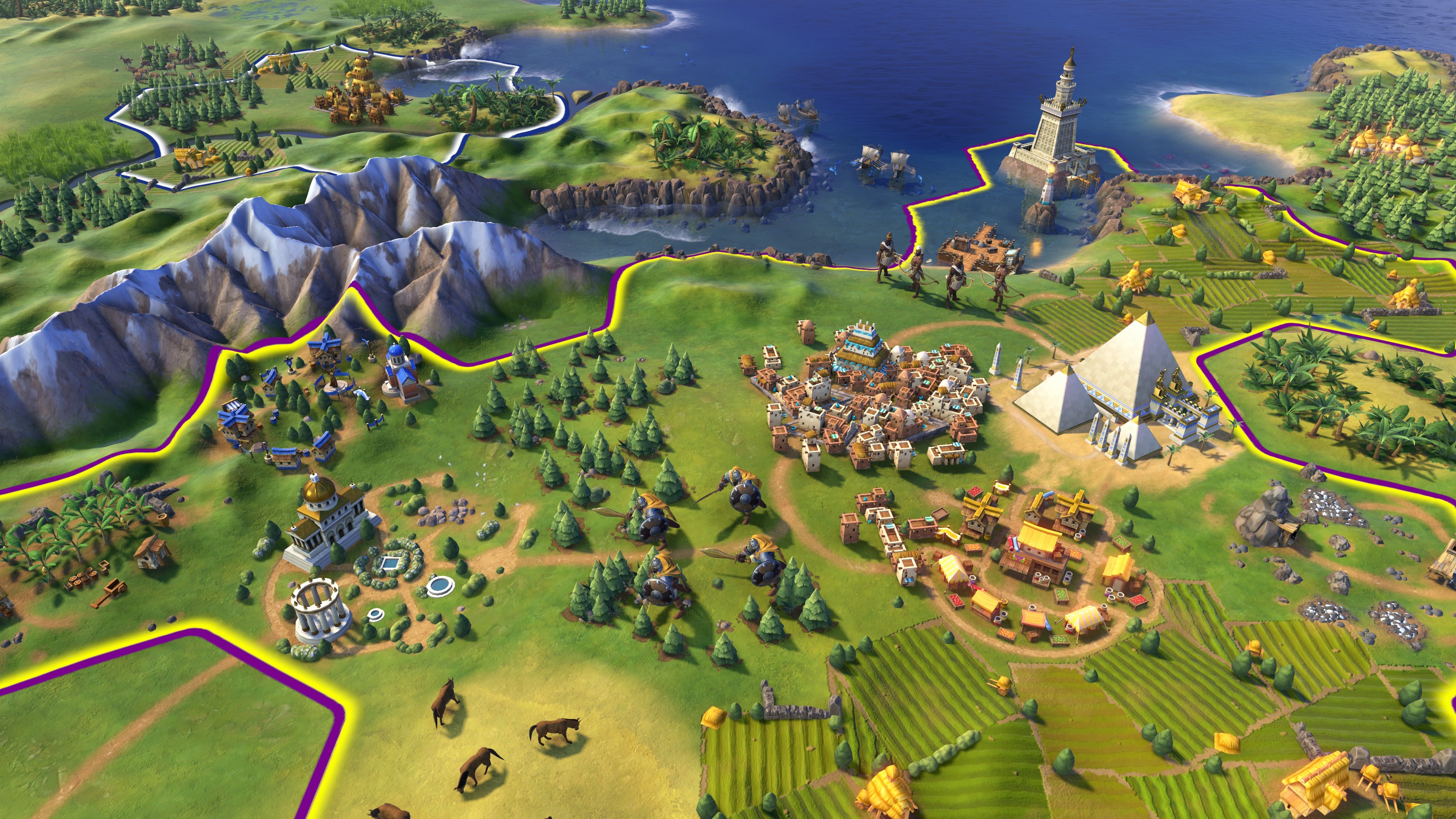 Civ 6' tall vs  wide: How many cities should you build in