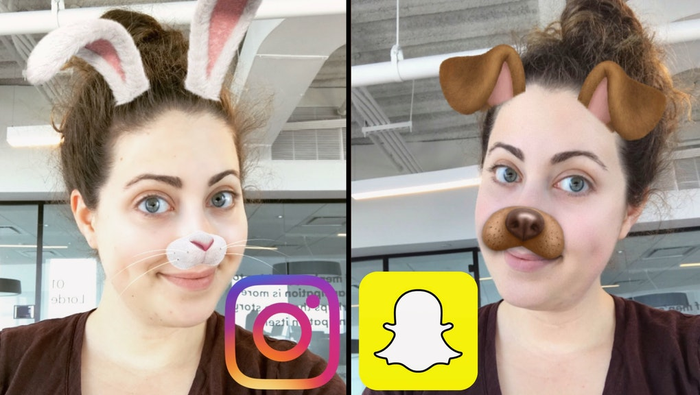 Instagram Face Filters vs  Snapchat Lenses: How do they