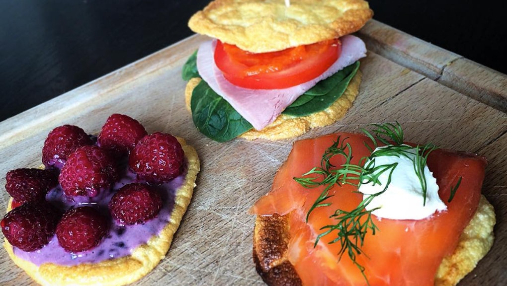 Gluten-Free, Carb-Free Cloud Bread Is the Latest Healthy