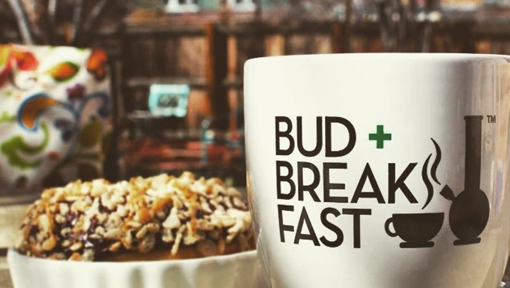 """What it's like to stay at the first weed-inspired """"bud-and"""