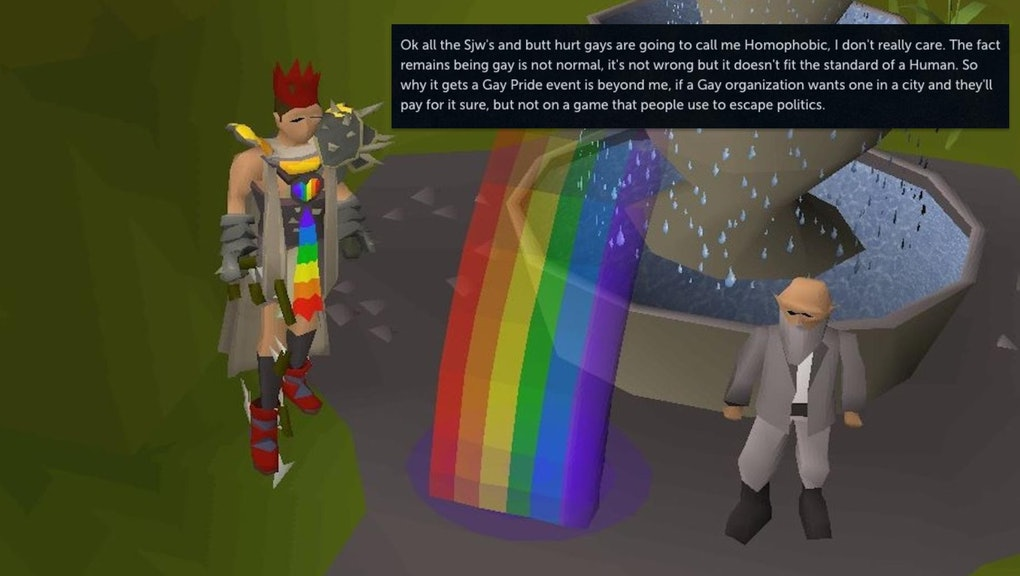 Old School RuneScape' players rage against