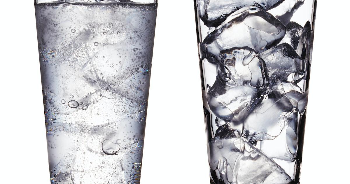 Февраля открытки, картинки со льдом в стакане