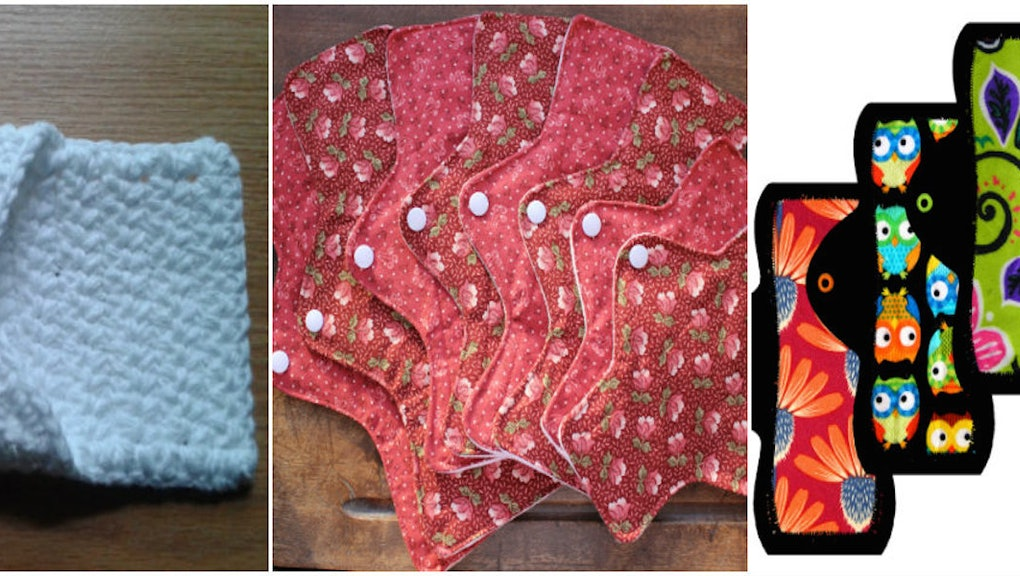 Meet the Women Selling Quirky Homemade Menstrual Cloths on Etsy