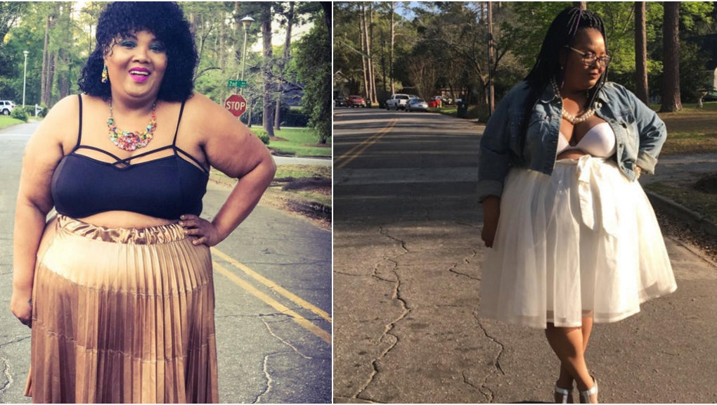 eca93ef3ab3cdc Plus-Size Blogger Shuts Down Hater: