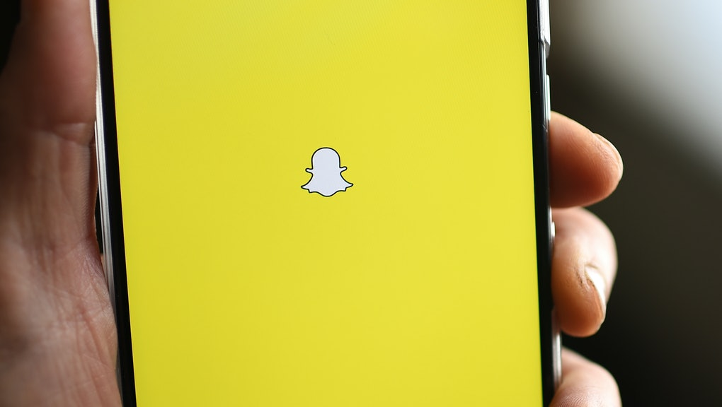 How to add a background on Snapchat using the app's new tools