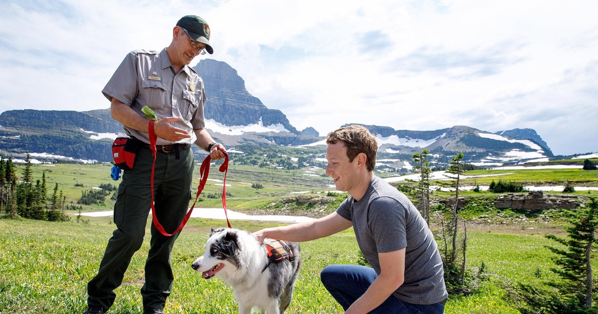 Exclusive: Trump administration pulled top climate expert from Mark Zuckerberg's national park visit