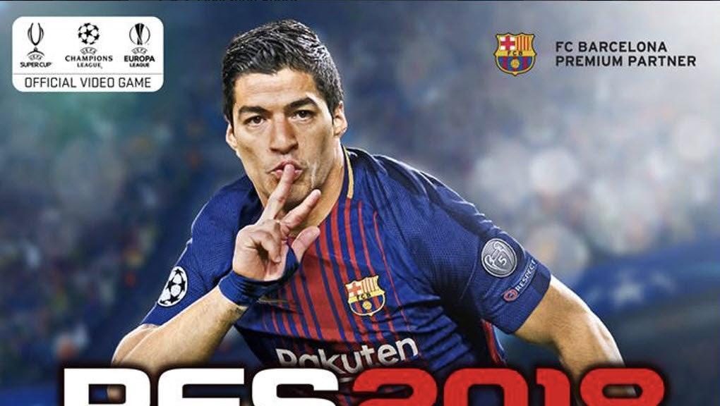 PES 2018' Cover Athlete: Luis Suarez will be the face of