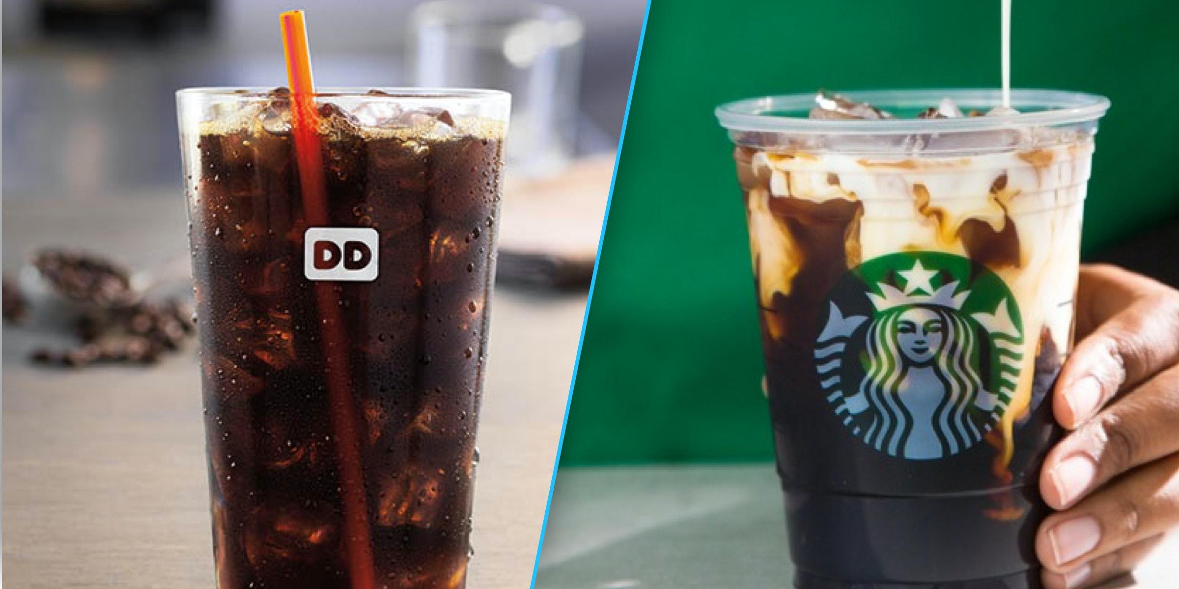 How to make starbucks iced coffee taste like dunkin