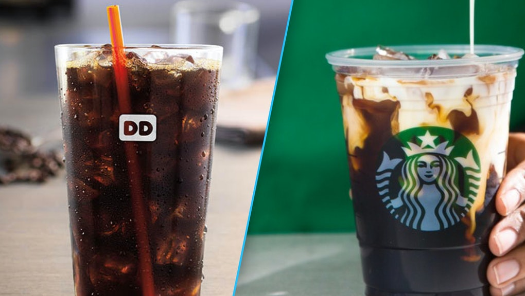 Starbucks Vs Dunkin Donuts Cold Brew Coffee Which Is Better