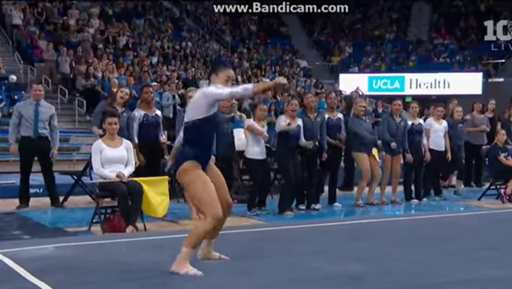 Lit Gymnast Hits the Quan, Dab and Whip