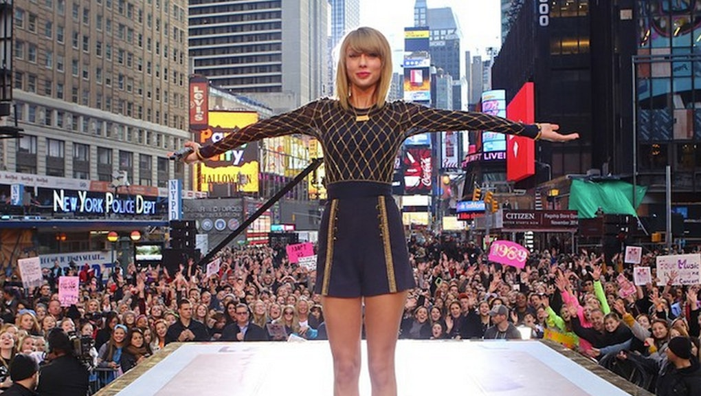 New York City Has Rejected Taylor Swift