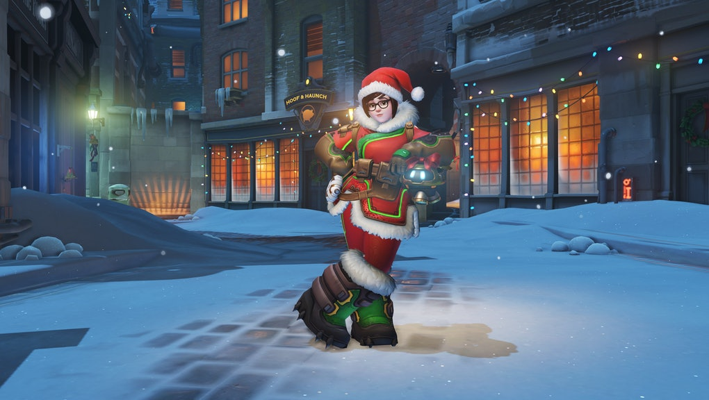 Christmas Skins.Overwatch Christmas Skins Mei S Update Disappoints But