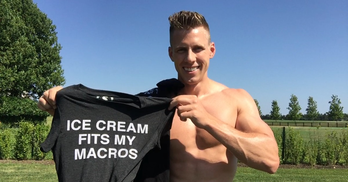 Meet The Personal Trainer Who Eats A Pint Of Ice Cream A Night