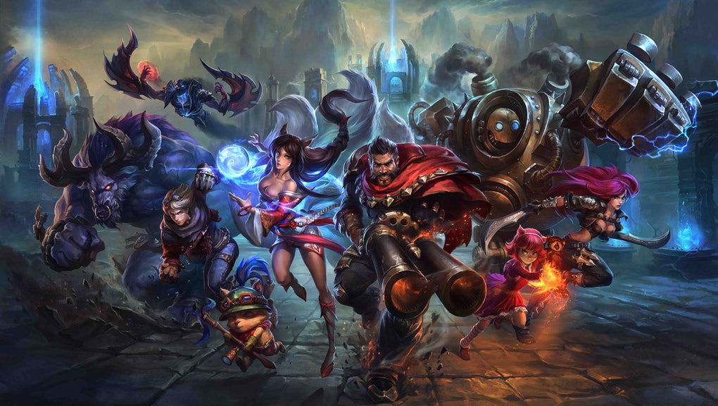 League of Legends' Store Error: What to do with a blank or