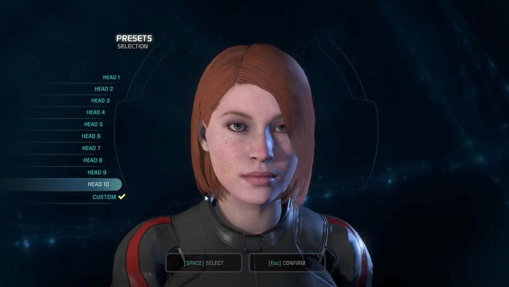 Mass Effect: Andromeda' Character Creator Update: Here's every new