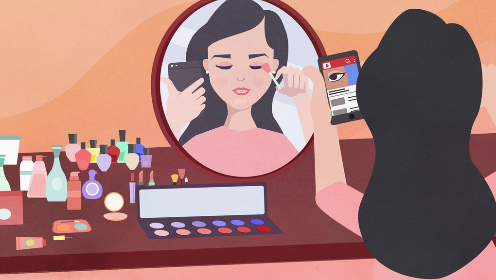 Teens flock to YouTube for makeup tutorials — but who's