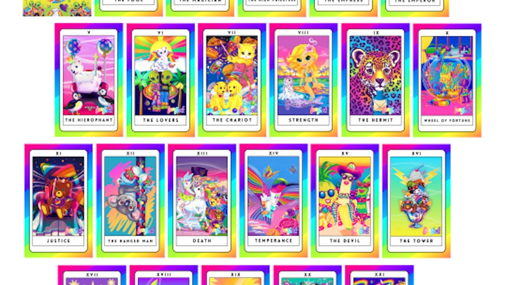 The Lisa Frank-Inspired Tarot Deck You've Been Waiting For