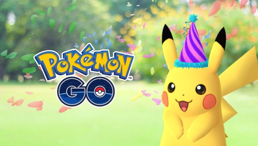Pokémon Go' Anniversary Event: Pikachu hat revealed in new