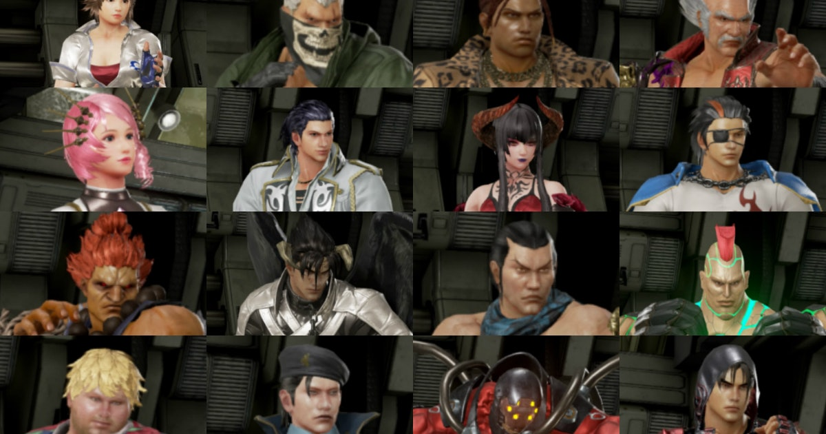 Tekken 7 Roster Full Character List Of Every Base Pre Order And